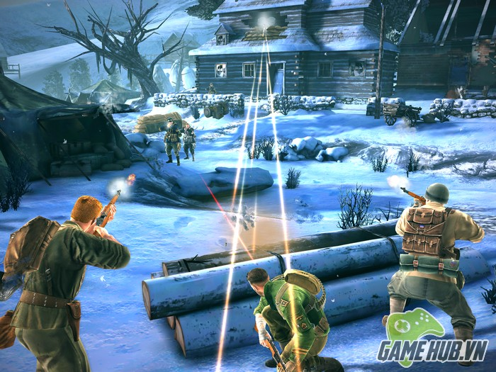 Brothers in Arms 3 game bom tấn mới của Gameloft2