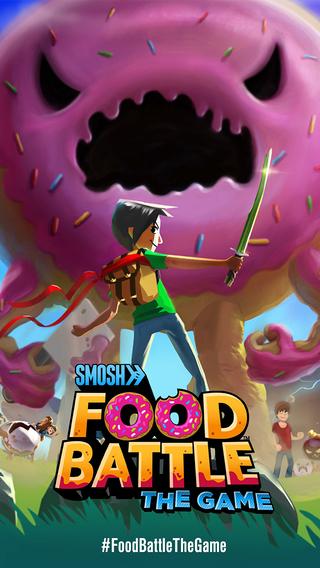 Food Battle game phưu lưu hành động siêu hấp dẫn