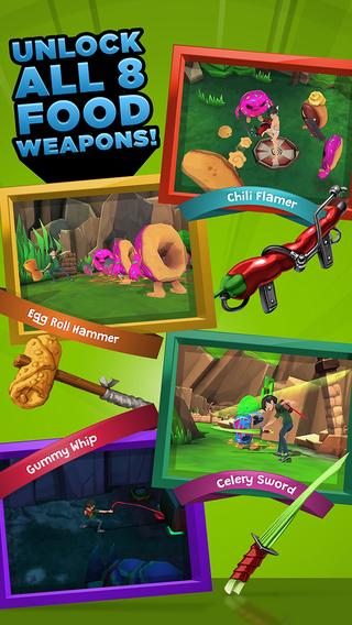 Food Battle game phưu lưu hành động siêu hấp dẫn4