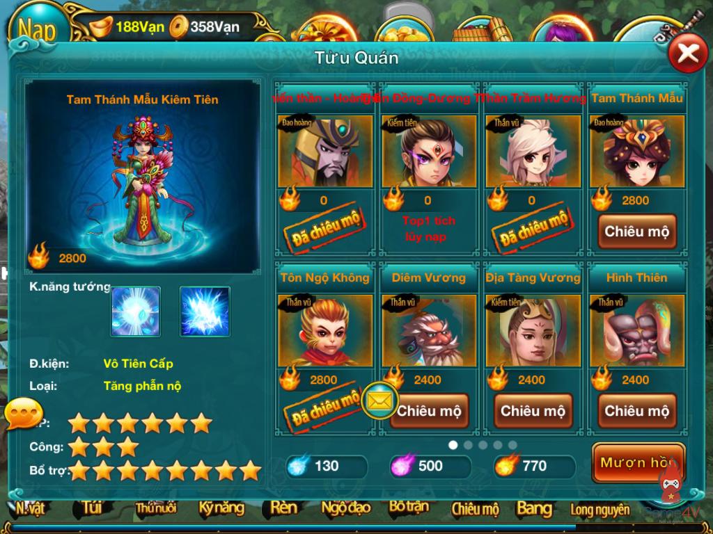 Chiến Tiên tung giftcode nhân dịp update phiên bản mới3