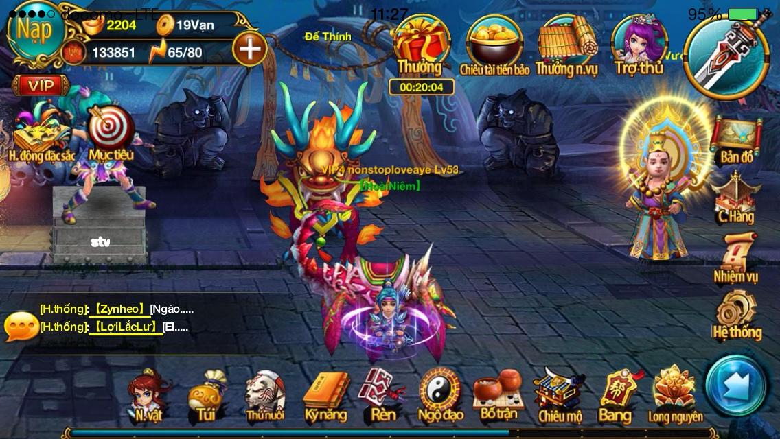 Chiến Tiên tung giftcode nhân dịp update phiên bản mới1
