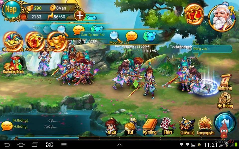 Chiến Tiên tung giftcode nhân dịp update phiên bản mới