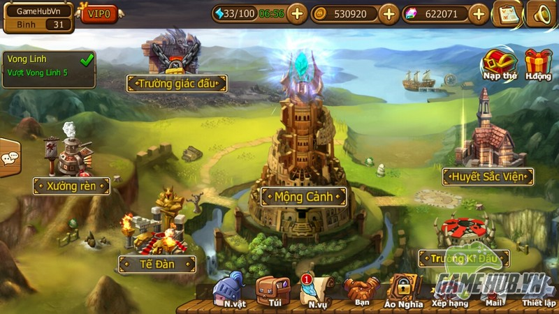 HeroCraft  tung giftcode khủng dịp ra mắt server S2