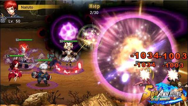 Siêu anh hùng có sự góp mặt của Songoku và Naruto3