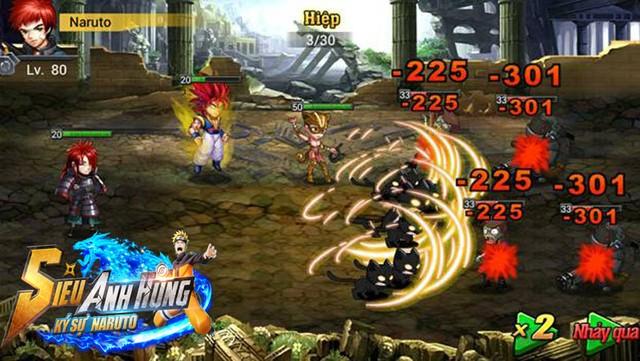 Siêu anh hùng có sự góp mặt của Songoku và Naruto6