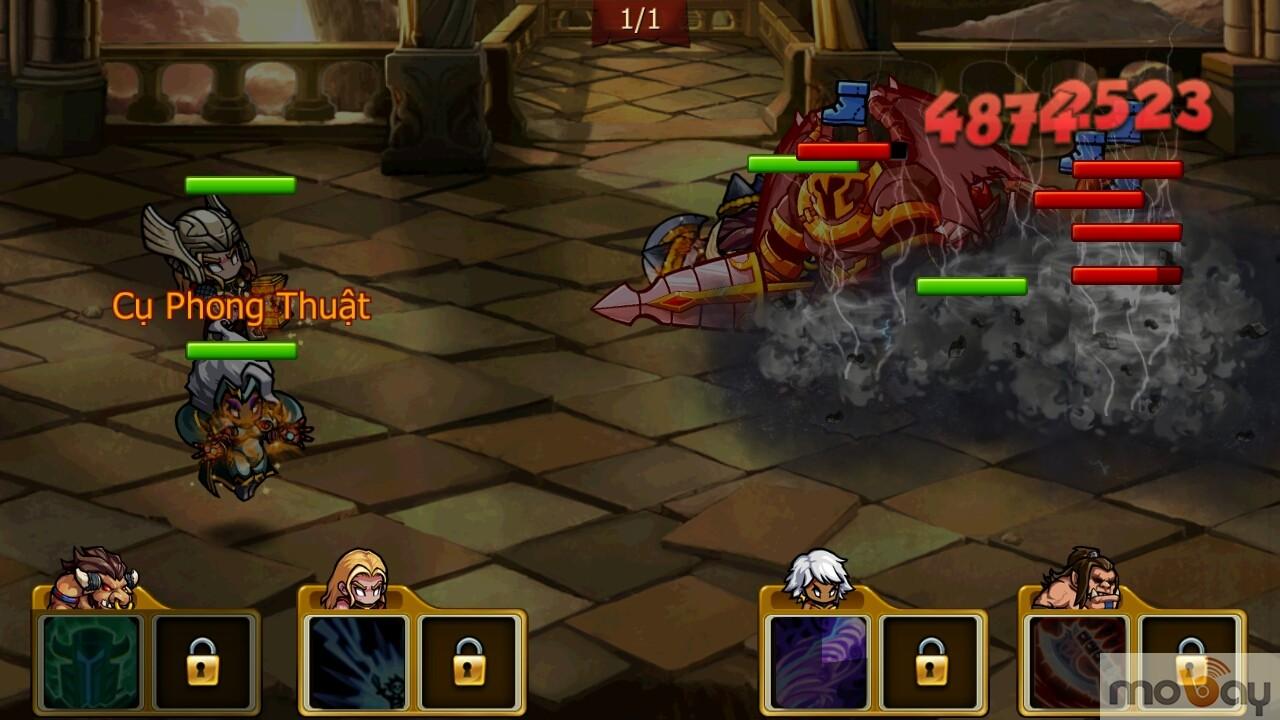 Giftcode Herocraft dành tặng cộng đồng game thủ