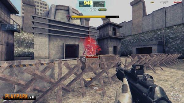 Tập kích game bắn súng mới hay hơn cả Đột Kích4