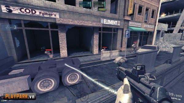 Tập kích game bắn súng mới hay hơn cả Đột Kích5