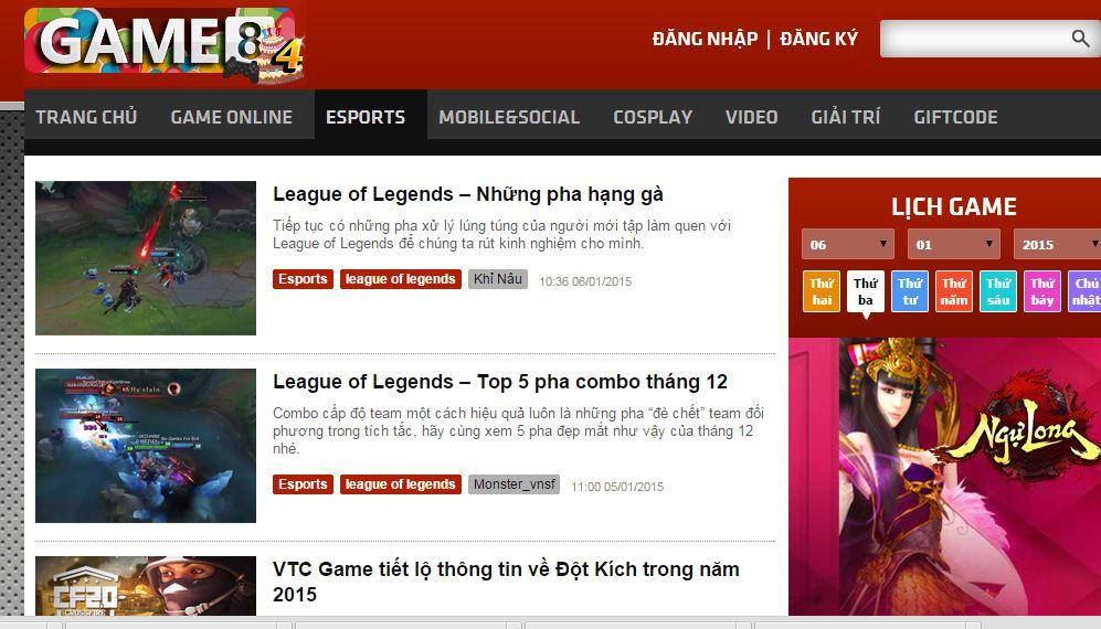 Game8 cổng thông tin game với kho video khủng1