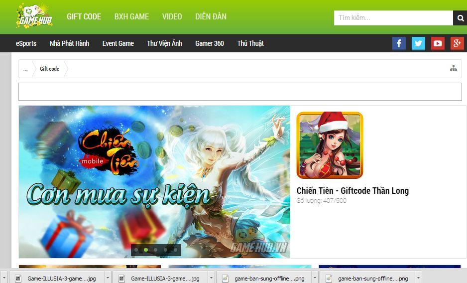 Gamehub cổng thông tin chuyên biệt về game mobile1