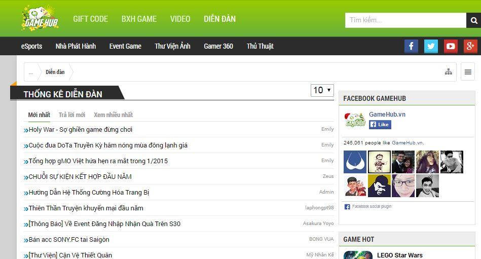 Gamehub cổng thông tin chuyên biệt về game mobile2