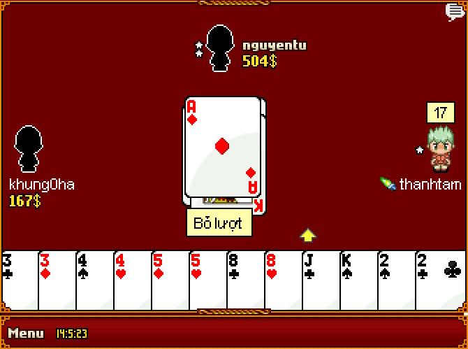 Thủ thuật chơi bài tiến lên trong game bài4