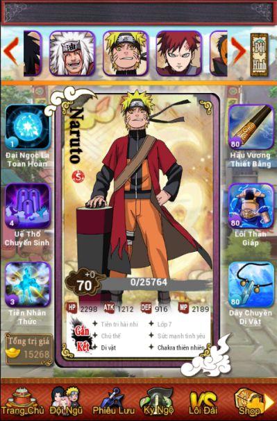 I am Naruto tặng giftcode lì xì đầu năm