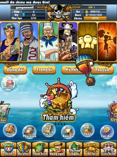 Hải Tặc Mobi game siêu hot trên windows phone năm 2015d