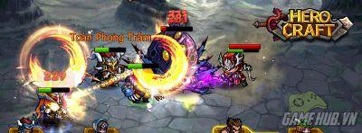 HeroCraft tặng giftcode khủng khu mở sever Demon2