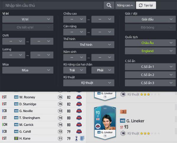 Hướng dẫn nhanh tính năng Team Color trong FIFA Online 4 3