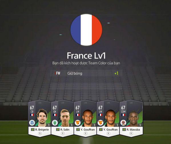Hướng dẫn nhanh tính năng Team Color trong FIFA Online 4 6