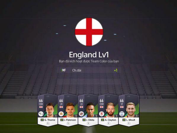 Hướng dẫn nhanh tính năng Team Color trong FIFA Online 4 7