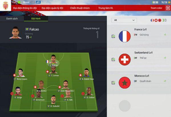 Hướng dẫn nhanh tính năng Team Color trong FIFA Online 4 9