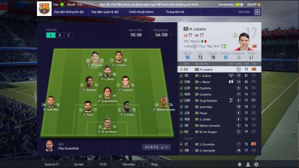 FIFA online 4: Hướng dẫn cách xây dựng đội hình theo ý muốn 3