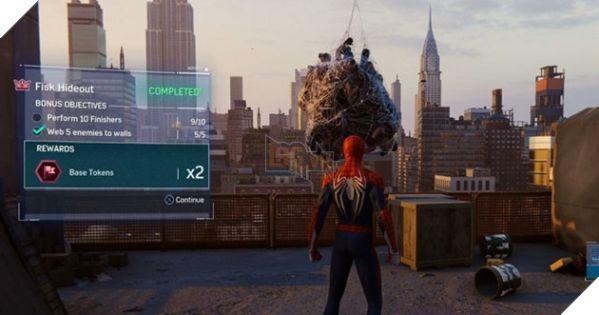 Hướng dẫn cách lấy một số loại Tokens trong game Spider-Man 9