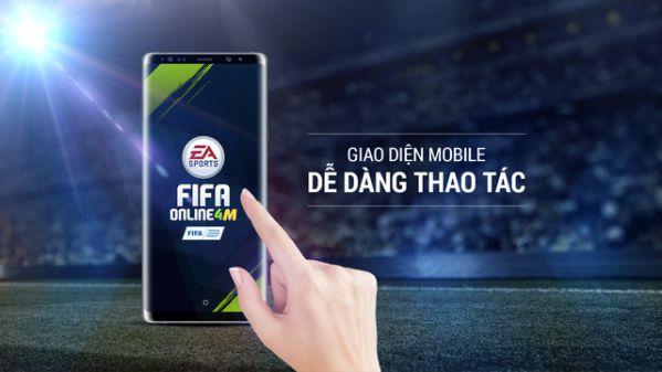 Tìm hiểu những tính năng của siêu phẩm FIFA Online 4 Mobile 2