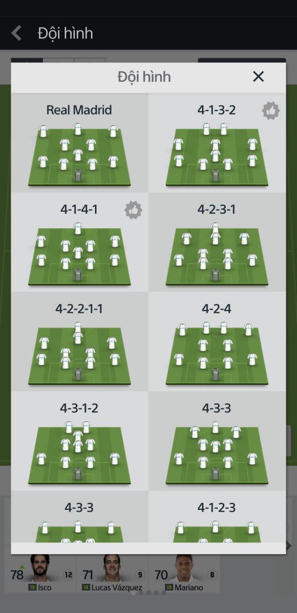 Tìm hiểu những tính năng của siêu phẩm FIFA Online 4 Mobile 7