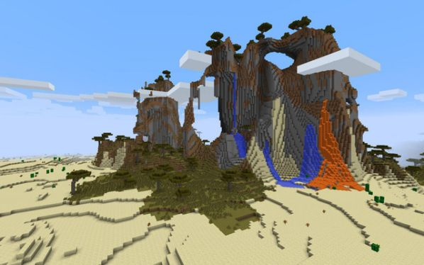 12 địa điểm quá lý thú trong Minecraft mà không nhiều người biết 12