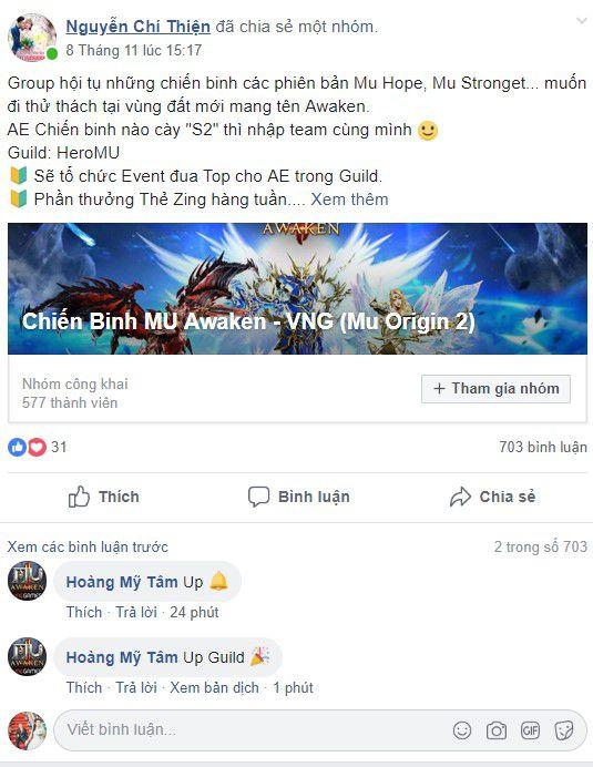 Bí kíp săn Boss thế giới hiệu quả trong game MU Awaken - VNG 3