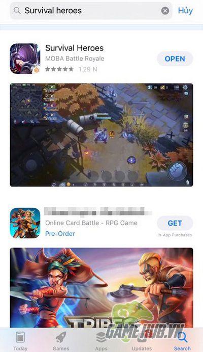 Hướng dẫn tải Survival Heroes cho iOS, Android và làm quen với giao diện 2