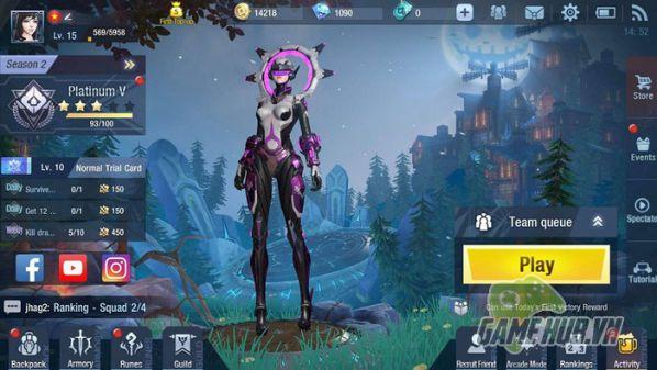Hướng dẫn tải Survival Heroes cho iOS, Android và làm quen với giao diện 5