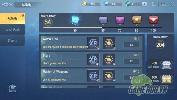 Hướng dẫn tải Survival Heroes cho iOS, Android và làm quen với giao diện 8