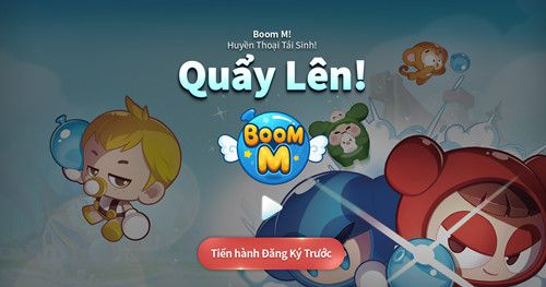 """Bom tấn """"Boom M"""" bản mobile của Boom Online mở cửa đăng ký 3"""