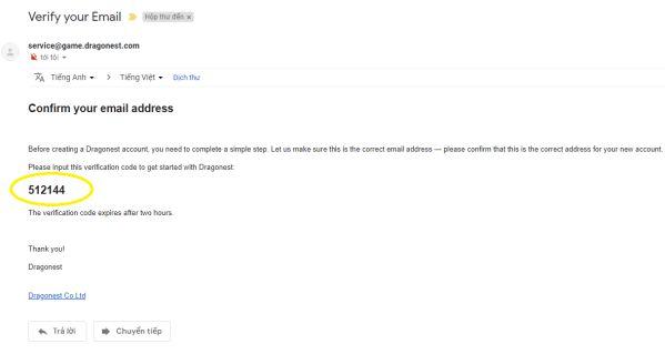 Hướng dẫn chi tiết cách đăng ký tài khoản Auto Chess Mobile bằng Email 4