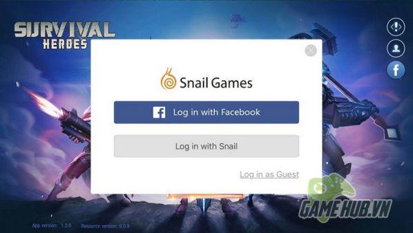 [Survival Heroes] Hướng dẫn cách tải và làm quen với giao diện game 4