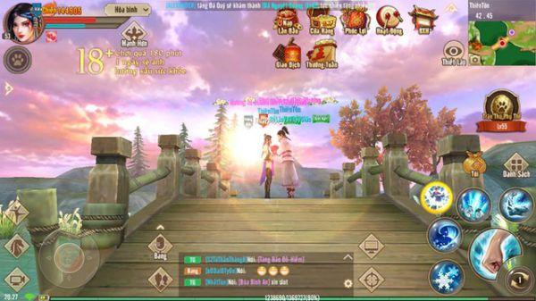 Vén bức màn bí mật về đồ họa trong Tân Thiên Long Mobile - VNG 2