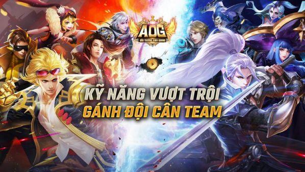 5 tướng được chọn, yêu thích nhất trong AOG – Đấu Trường Vinh Quang 2