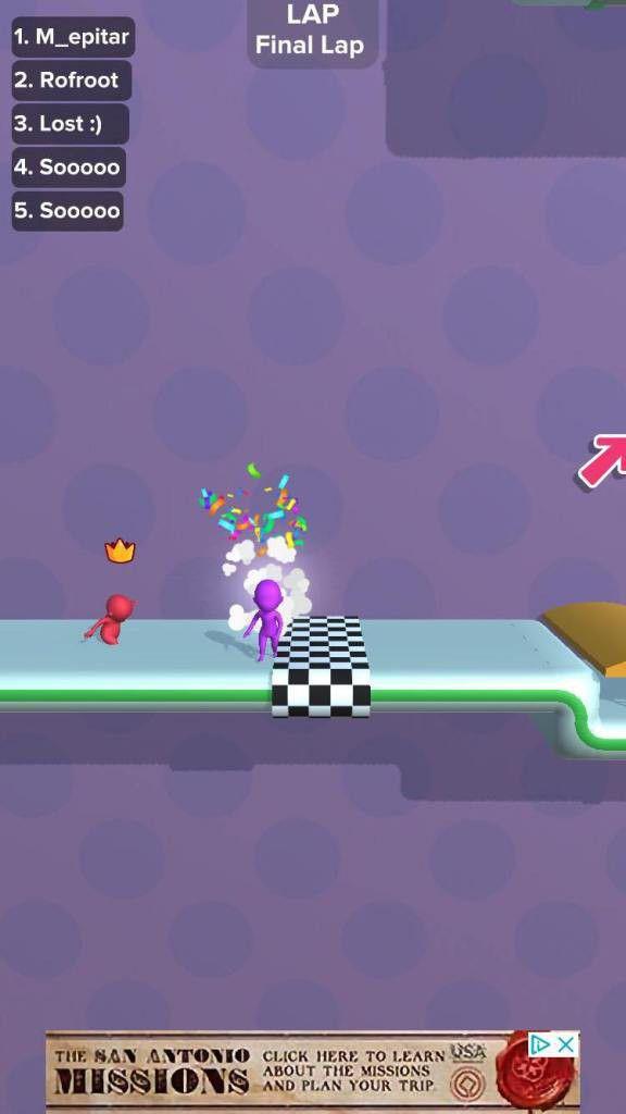 """Hướng dẫn, mẹo chơi game hack não """"Run Race 3D"""" cực đơn giản 3"""