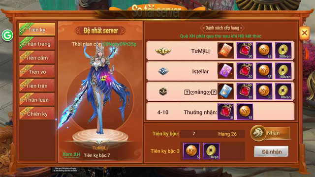 Loạt sự kiện đua top vô cùng hấp dẫn của MMORPG Thần Khúc Mobile 2