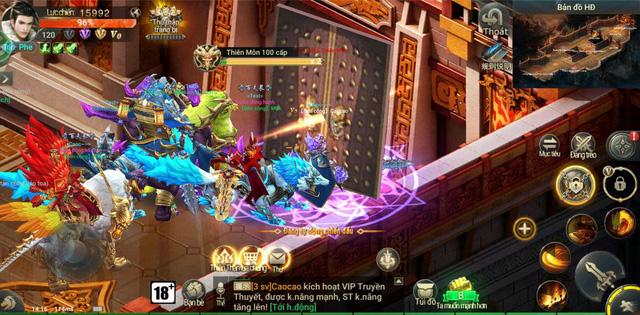 Loạt sự kiện đua top vô cùng hấp dẫn của MMORPG Thần Khúc Mobile 6