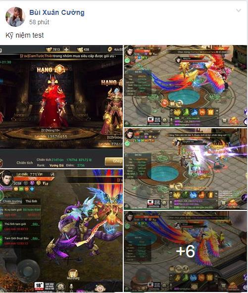 Loạt sự kiện đua top vô cùng hấp dẫn của MMORPG Thần Khúc Mobile 9