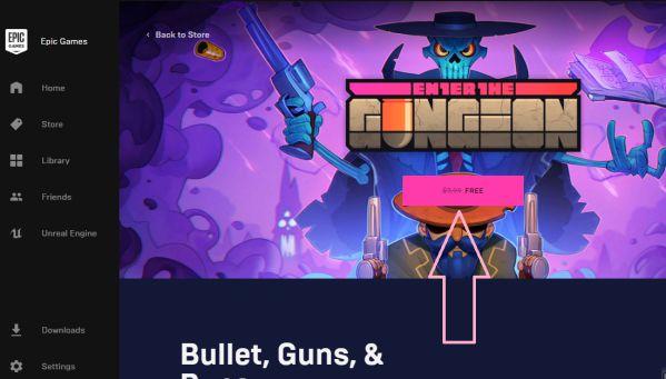 Hướng dẫn cách nhận game Enter the Gungeon hoàn toàn miễn phí 5