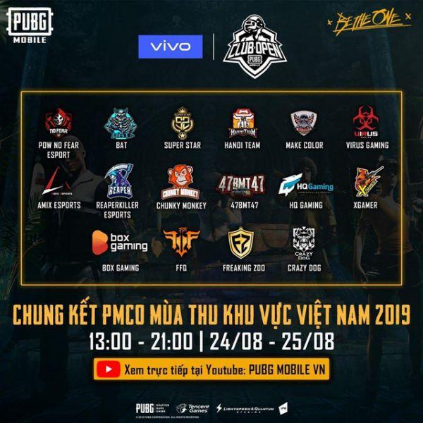 4 Đội hot nhất vòng chung kết PUBG Mobile - PMCO Mùa Thu 2019 1