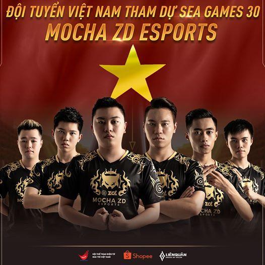 Mocha ZD Esports đại diện Liên Quân Mobile tham gia SEA Games 30 1