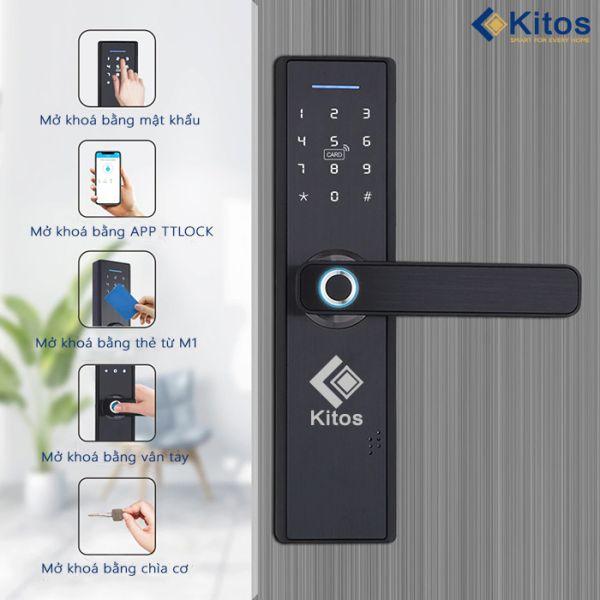 Top 5 dòng khóa cửa thông minh vân tay Kitos nên mua nhất 3