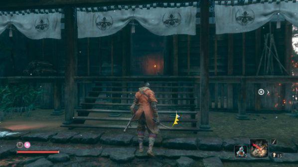Cách tìm những bàn tay giả Shinobi trong Sekiro: Shadow Die Twice 7
