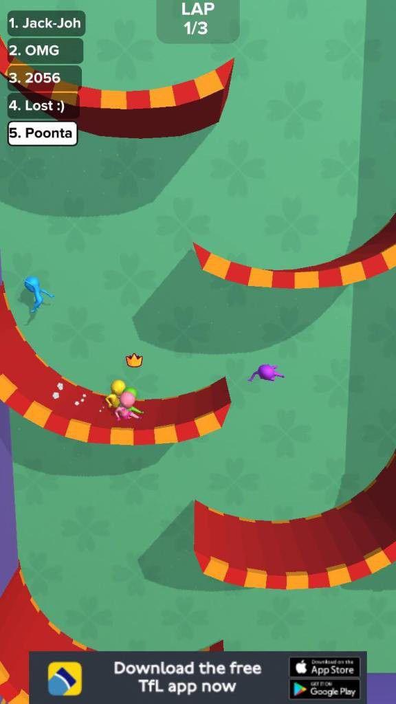 """Hướng dẫn, mẹo chơi game hack não """"Run Race 3D"""" cực đơn giản 1"""