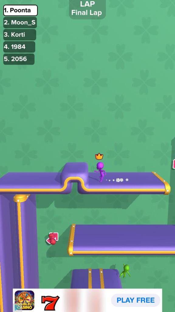 """Hướng dẫn, mẹo chơi game hack não """"Run Race 3D"""" cực đơn giản 2"""