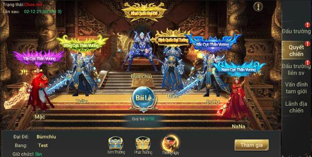 Loạt sự kiện đua top vô cùng hấp dẫn của MMORPG Thần Khúc Mobile 5