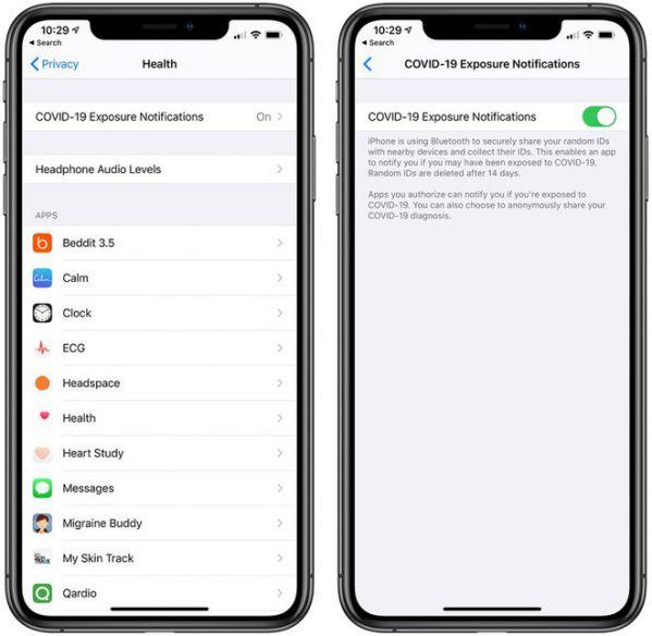 iOS 13.5 bản chính thức có những tính năng gì trong mùa dịch Covid? 1